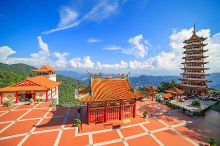pahang: Chin Swee Caves Temple, located at Genting Highlands near Kuala Lumpur, Malasia Stock Photo