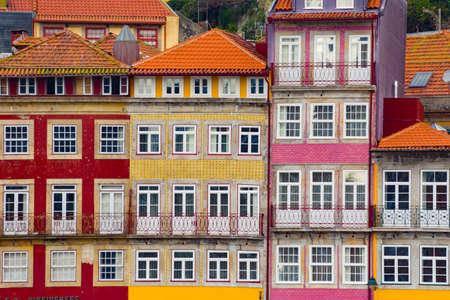 Porto, Portugal cityscape across the Douro River. Stok Fotoğraf