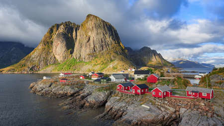 fishing huts: Fishing huts at Reine, Lofoten islands, Norway