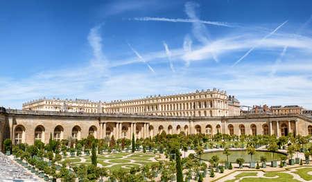 Il Palazzo Reale di Versailles, VERSAILLES, FRANCIA Archivio Fotografico - 85610160
