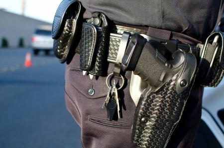duty belt: motor officer