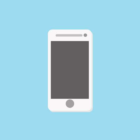 smartphone icon: smartphone icon,vector illustration