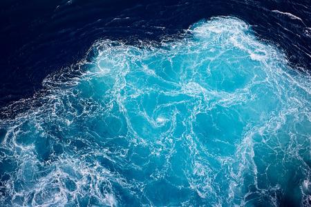 ozean: winken Ozeanwasser Hintergrund.