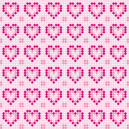 Pattern_hearts Vector