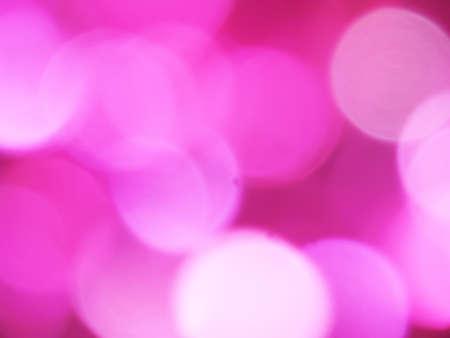 Pink bokeh. Playing of lights. Stock Photo