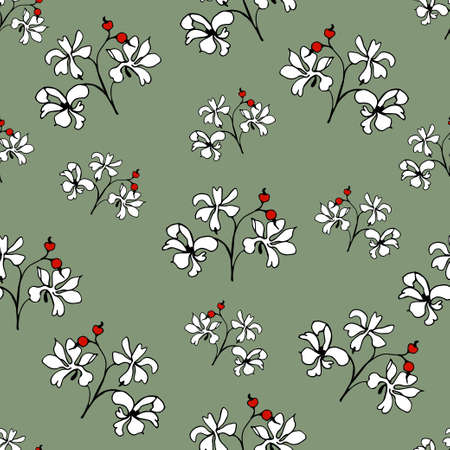 keywords backdrop: Pattern of flowers.