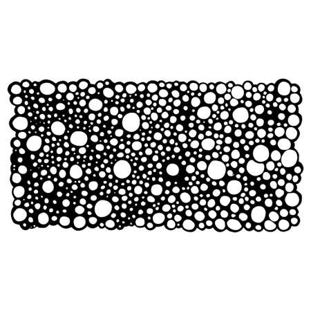 circles pattern: abstract pattern of circles Illustration