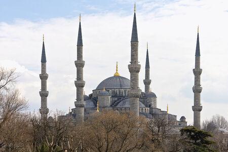 holiday prayer book: La Mezquita azul de Estambul, Turqu�a