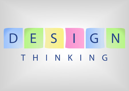 Design Thinking title as concept for solution based thinking