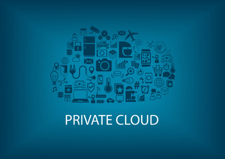 Private cloud computing for home automation. Connectivity of different devices: such as refrigerator blender Air Condition Garage Cars smart phone SmartWatch sensor.