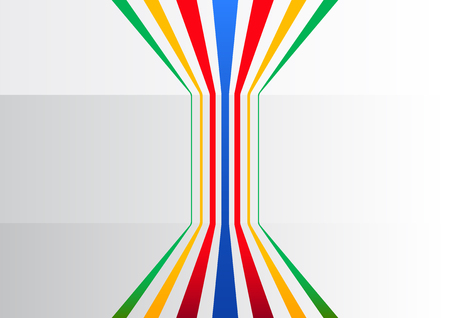 branching: Colorful generic business background with vertical lines branching out to symbolize information and process flow