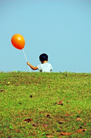 flying balloon photo