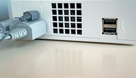 usb kabel: USB-Kabelverbindung Lizenzfreie Bilder
