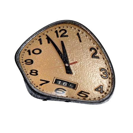 elapsed: Salvador Dali clock