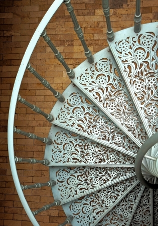 staircase: Spiral stairs