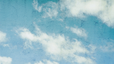 Grunge blue sky texture (abstract art background) photo