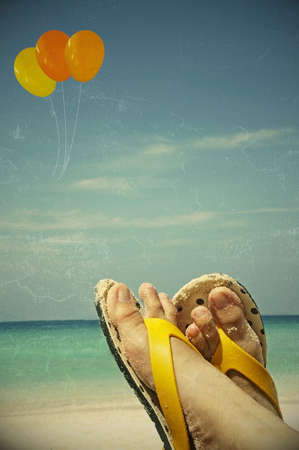 Summer vacation travel freedom concept  vintage color style  photo