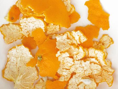 favoring: Orange peels