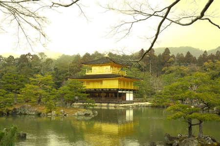 rokuonji: kinkakuji temple