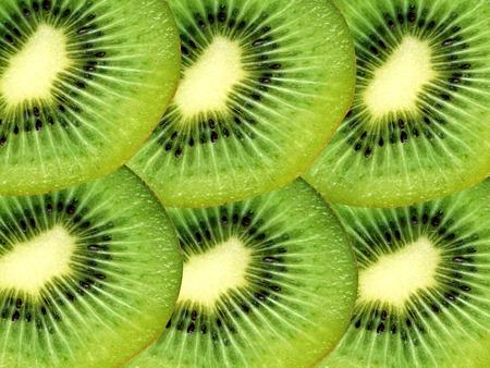 progeny: Kiwi fruit slices