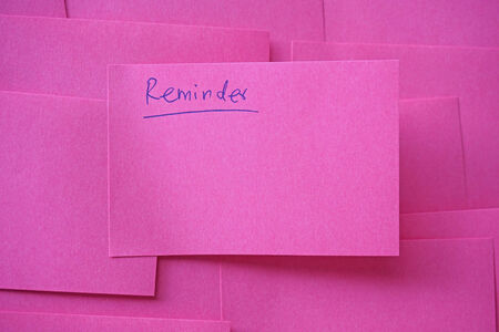 not to forget: do not forget reminder, note paper