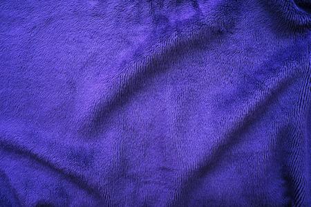 faux: Di colore blu faux fur texture di sfondo