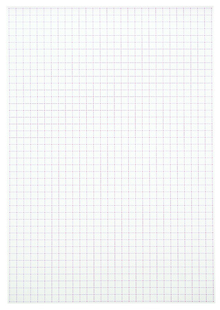 White squared paper sheet texture or background