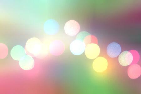 Colorful bokeh. Different colors Bokeh photo