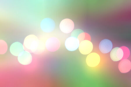 Colorful bokeh. Different colors Bokeh photo