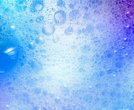 jabon liquido: Soapsuds fondo con burbujas de aire textura abstracta