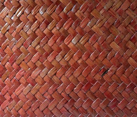 wicker work: wooden handmade natural asian background