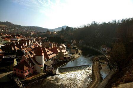 unesco in czech republic: Historical Center of Cesky Krumlov, Czech Republic - Unesco World Heritage