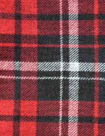 checked fabric: checked fabric texture Stock Photo