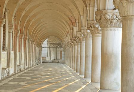 arcade, San Marco square in Venice photo