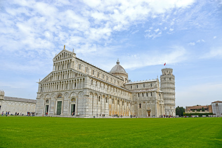 Leaning Tower, Pisa, Italy Editorial