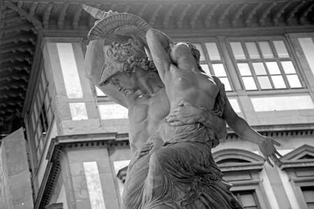 pio: Pio Fedis Rape of Polyxena  a neoclassics masterpiece. FlorenceTuscany Italy