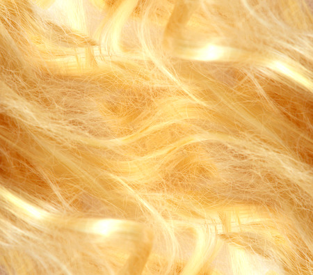 textura pelo: Pelo Rubio. Textura del pelo rubio