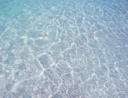 Clear blue ripple aqua texture