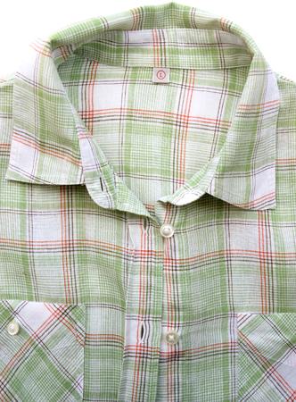Shirt isolated on white background. Stock Photo