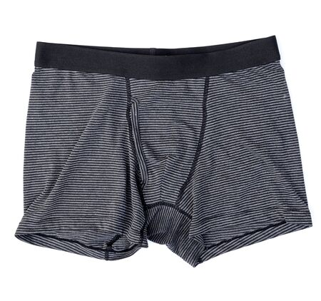 ropa interior: Ropa interior masculina aislado en el blanco