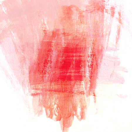 peinture rouge: abstract red paint brush background with scratch texture