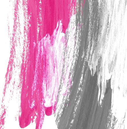 pastel: Abstract hand paint color background, grey and pink. Stock Photo
