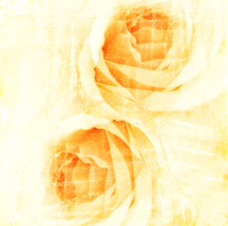 mujer con rosas: acuarela amarilla flor rosa