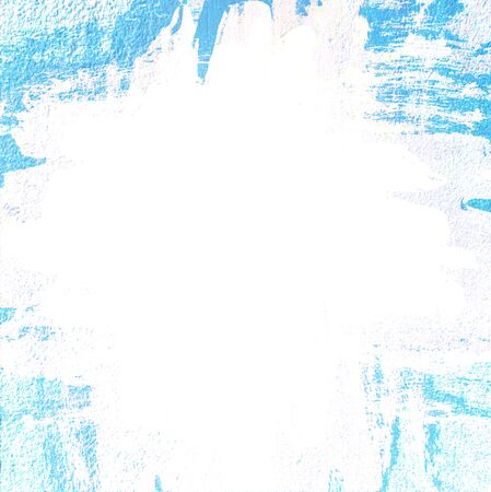 untidy: Grunge border, painted background