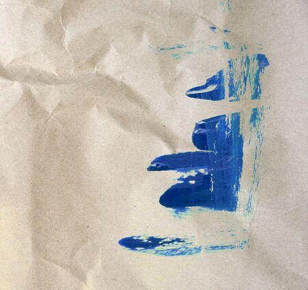 paper texture: blue paint watercolor on paper texture