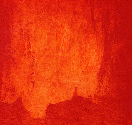 hormigon: Rojo pintado la pared de fondo Foto de archivo