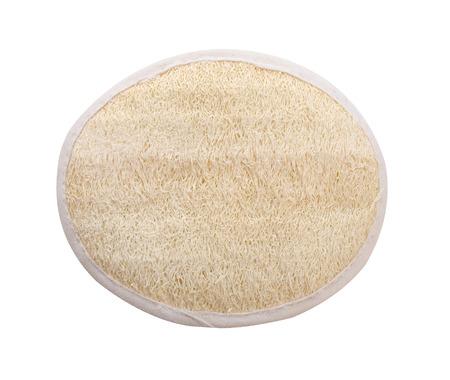 body scrub and clean skin, isolated on white background (clipping path) Zdjęcie Seryjne