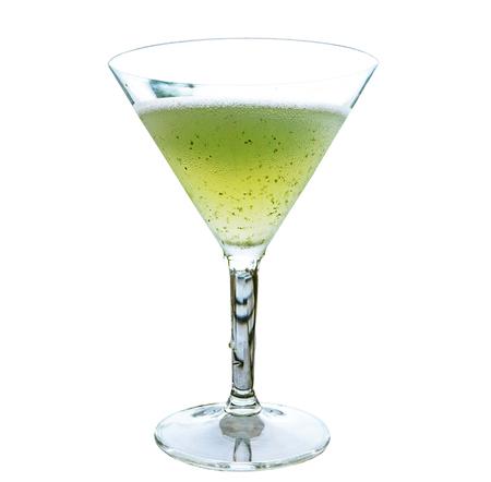 hugo: cocktail mint juice isolate on white
