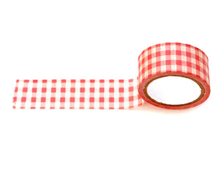 Paper tape isolated on white background