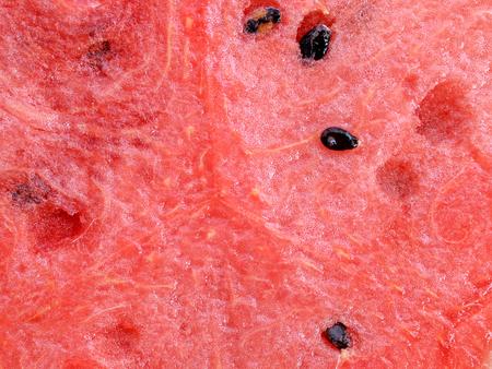 insipid: closeup of watermelon Stock Photo